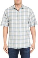 Tommy Bahama Men's Rattan Drift Original Fit Short Sleeve Sport Shirt