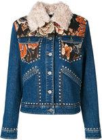 Stella McCartney Nashville denim jacket - women - Cotton/Acrylic/Polyester/metal - 42
