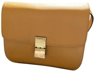 Celine Classic Yellow Leather Handbags