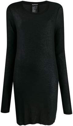 Ann Demeulemeester long-length thin knitted top