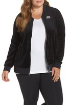 Nike Plus Size Women's Velour Jacket