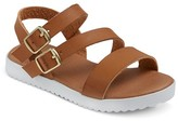 Cat & Jack Toddler Girls' Shaya Strappy Footbed Sandals With White Bottom Cat & Jack - Assorted Colors