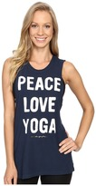 Spiritual Gangster Peace Love & Yoga Rocker Tank Top