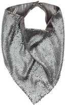 H&M Metal Mesh Triangular Scarf - Silver-colored - Ladies