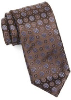 Canali Men's Medallion Silk Tie