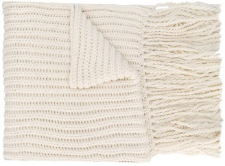 Joseph knitted wool scarf
