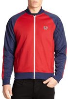 Fred Perry Cotton-Blend Colorblock Track Jacket