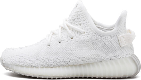 Adidas Yeezy Boost 350 V2 Infant 'Triple White' Shoes - Size 9C
