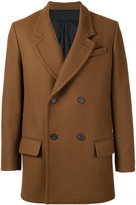 Ami Alexandre Mattiussi Double Breasted Short Coat - men - Wool/Polyimide - 42