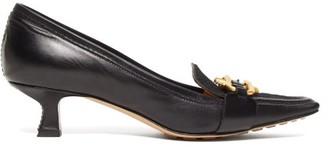 Bottega Veneta By Madame Leather Pumps - Womens - Black