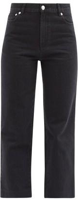A.P.C. Sailor High-rise Cropped Jeans - Black