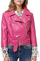 Buffalo David Bitton Zandra Faux Leather Moto Jacket