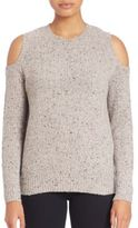 Rebecca Minkoff Page Cold Shoulder Merino Wool Sweater