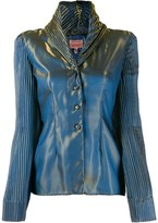 Romeo Gigli Pre Owned 1996 iridescent jacket