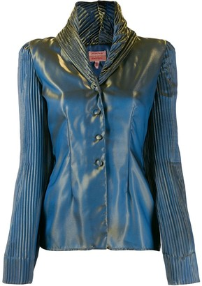 Romeo Gigli Pre-Owned 1996 iridescent jacket