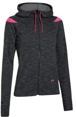 Under Armour Charged Cotton Storm Marble Full Zip Hoodie