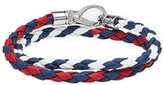 Tod's Tod\'s Braided Leather Wrap Bracelet