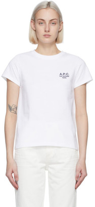 A.P.C. White Denise T-Shirt