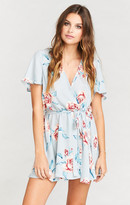 MUMU Whitney Wrap ~ Flower Hour Sky