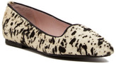 Patricia Green Dalmatian Printed Genuine Calf Hair Flat