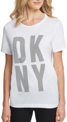 DKNY Exploded 'Nyc' Logo T-Shirt