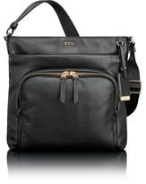 Tumi Voyageur - Capri Leather Crossbody Bag - Black