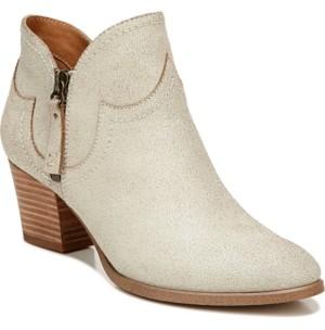 Zodiac Kaylin Western Ankle Booties Women's Shoes