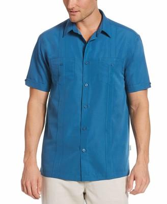 Cubavera Two-Pocket Double Pintuck Shirt