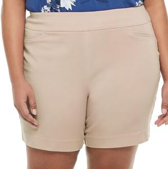 Croft & Barrow Plus Size Effortless Stretch Shorts