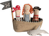 Maileg North America Pirate Ship Plushy Set
