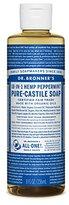 Dr. Bronner's Fair Trade & Organic Castile Liquid Soap - (Peppermint, 8 oz)