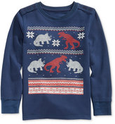 Epic Threads Intarsia Dino Thermal Shirt, Toddler Boys (2T-4T) & Little Boys (2-7)