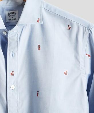 Hamilton Made in USA + Todd Snyder Fox Oxford Dress Shirt