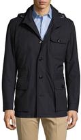 Ermenegildo Zegna Stand Collar Field Jacket