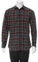 DSQUARED2 Plaid Button-Up Shirt w/ Tags
