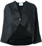 Societe Anonyme pinstripe cropped jacket