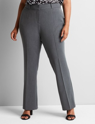 Lane Bryant Signature Fit Tailored Stretch Straight Allie Pant