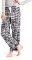 Gap Flannel roll-up sleep pants