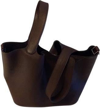 Hermes Picotin \N Leather Handbags