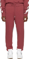 Red Diagonal Arrows Lounge Pants