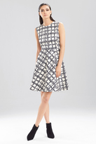Josie Natori Window Pane Dress