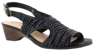 Bella Vita Justine Ii Women's Woven Wedge Sandals Women's Shoes