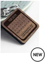 Personalised A Day To Remember Wooden Keyring