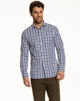 Le Château Check Cotton Slim Fit Shirt