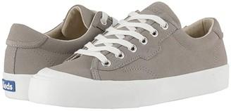 Keds Crew Kick 75 Suede (Gray Suede) Women's Shoes