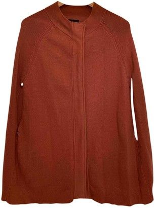 Topshop Tophop Brown Cotton Coat for Women