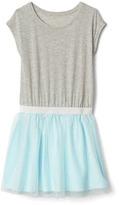 Gap Shimmer tulle cap dress