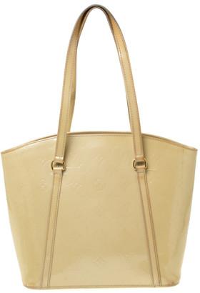 Louis Vuitton Vert Impression Monogram Vernis Avalon MM Bag