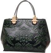 GUGGE Womens National Style Luxury Shoulder Bags Flowers Temperament Handbags(C2)
