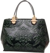 GUGGE Womens National Style Luxury Shoulder Bags Flowers Temperament Handbags(C3)